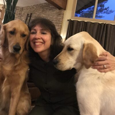 Daisy and Hazel with Dale