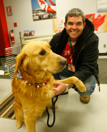 Thank you to The Toronto Sun for joining Golden Rescue at our Home For The Holidays event