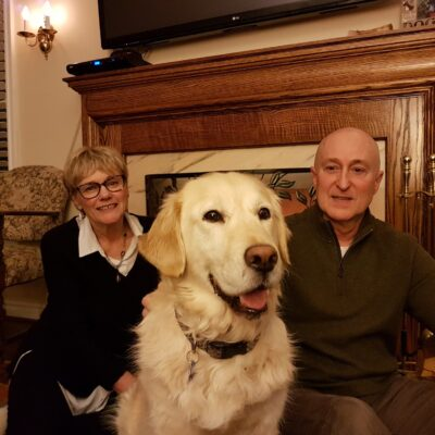 Betty-Ann, Mike and Max Blackwell