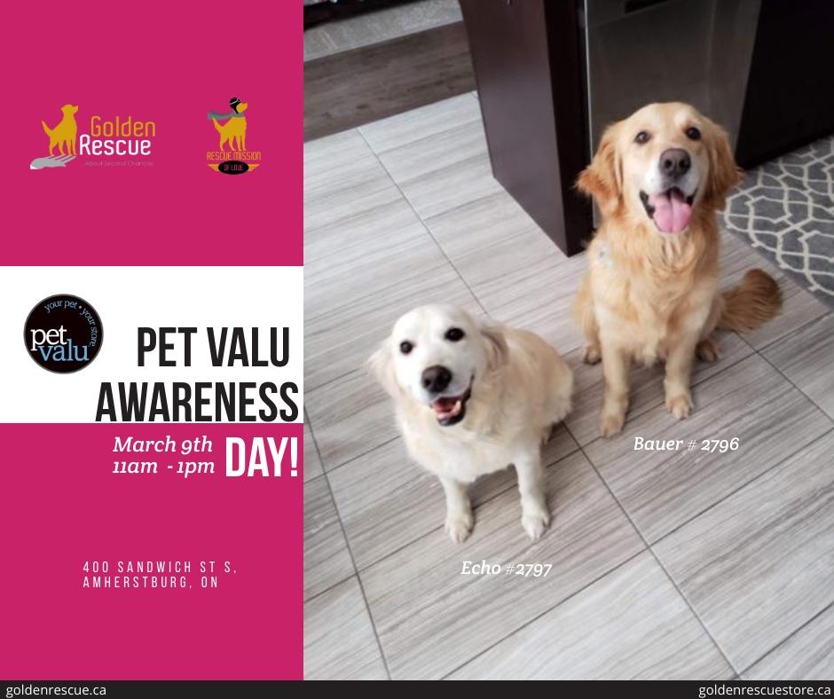 PetValu Awareness Day ~ Amherstburg