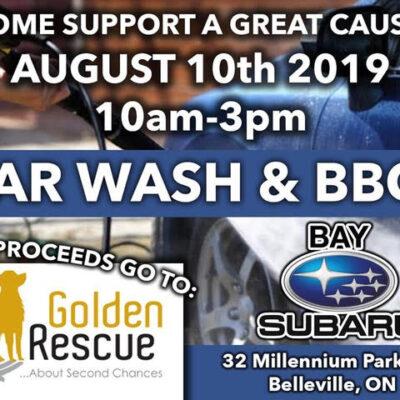 Car Wash & BBQ – Bay Subaru