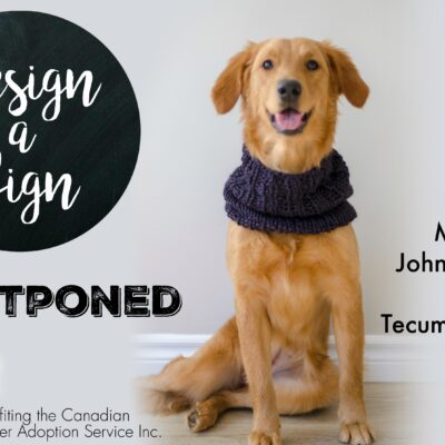 Design a Sign Event ~ Windsor – POSTPONED