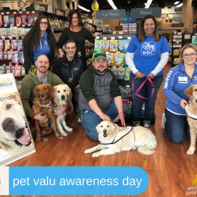 Pet Valu Awareness Event